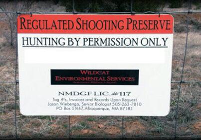 Shooting Preserve